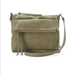 Sonoma Victoria crossbody bag purse Olive green